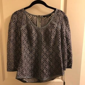 Nanette Lepore NYC Gray Top